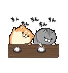 動くボンレス犬とボンレス猫(個別スタンプ:17)
