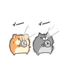 動くボンレス犬とボンレス猫(個別スタンプ:21)