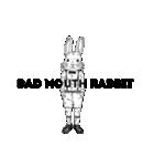 Bad mouth Rabbit(バッドマウスラビット)(個別スタンプ:04)