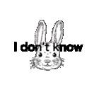 Bad mouth Rabbit(バッドマウスラビット)(個別スタンプ:06)