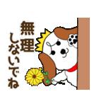 秋冬に使える!みみちゃ犬スタンプ(個別スタンプ:14)