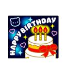 【動く★お誕生日】心からの贈り物(個別スタンプ:02)