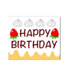 【動く★お誕生日】心からの贈り物(個別スタンプ:03)