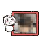 写真DEパンダinぱんだ(個別スタンプ:07)