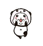写真DEパンダinぱんだ(個別スタンプ:08)
