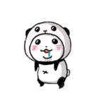 写真DEパンダinぱんだ(個別スタンプ:15)