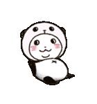 写真DEパンダinぱんだ(個別スタンプ:16)