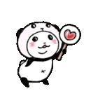 写真DEパンダinぱんだ(個別スタンプ:17)