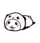 写真DEパンダinぱんだ(個別スタンプ:18)