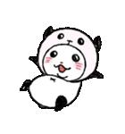写真DEパンダinぱんだ(個別スタンプ:19)