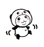 写真DEパンダinぱんだ(個別スタンプ:21)