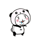 写真DEパンダinぱんだ(個別スタンプ:26)