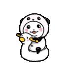 写真DEパンダinぱんだ(個別スタンプ:30)
