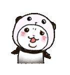 写真DEパンダinぱんだ(個別スタンプ:34)