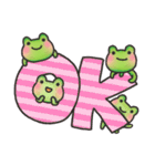 カエルのお天気2(個別スタンプ:08)
