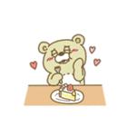 Crazy Sweets Bear 3(個別スタンプ:16)