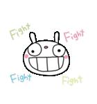 応援大好き☆ふんわかウサギ(個別スタンプ:05)