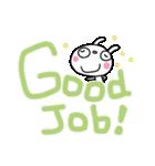 応援大好き☆ふんわかウサギ(個別スタンプ:17)