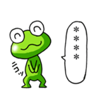 カエル大好き!パート11(カスタム)(個別スタンプ:33)