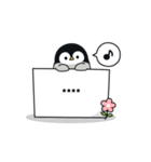 心くばりペンギン カスタムver.(個別スタンプ:34)