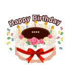 名前入りバースデーケーキ(名前の変更可能)