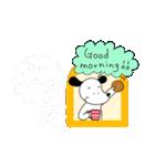WanとBoo(ホントの気持ち編)(個別スタンプ:01)