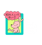 WanとBoo(ホントの気持ち編)(個別スタンプ:28)