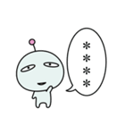 めんどく星人7/カスタム(個別スタンプ:36)