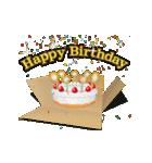 ずっと使える動くお祝い『誕生日&正月』(個別スタンプ:02)