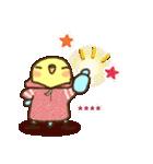 冬のインコちゃん【カスタム】(個別スタンプ:17)