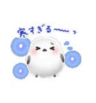 雪の妖精シマエナガ(冬バージョン)(個別スタンプ:12)