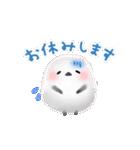 雪の妖精シマエナガ(冬バージョン)(個別スタンプ:15)