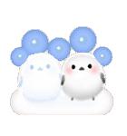 雪の妖精シマエナガ(冬バージョン)(個別スタンプ:18)