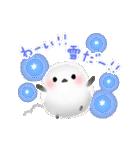 雪の妖精シマエナガ(冬バージョン)(個別スタンプ:19)