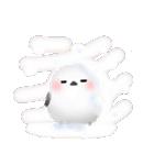 雪の妖精シマエナガ(冬バージョン)(個別スタンプ:24)