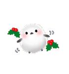 雪の妖精シマエナガ(冬バージョン)(個別スタンプ:30)