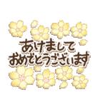 地味にかわいいシンプル*冬*花いっぱい(個別スタンプ:09)