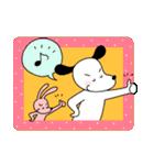 WanとBoo (言葉はいらない編)(個別スタンプ:03)