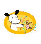 WanとBoo (言葉はいらない編)(個別スタンプ:07)