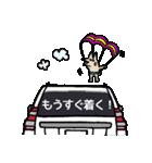 ボブの車スタンプ 旧白1(個別スタンプ:32)
