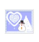 ▷光の冬☆年末年始☆クリスマス☆(個別スタンプ:21)