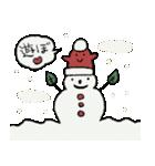 サンタ帽さんの冬スタンプ(個別スタンプ:02)