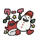 サンタ帽さんの冬スタンプ(個別スタンプ:23)