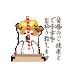秋田犬の年末年始スタンプⅡ(個別スタンプ:9)