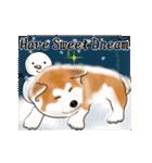 秋田犬の年末年始スタンプⅡ(個別スタンプ:12)