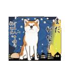 秋田犬の年末年始スタンプⅡ(個別スタンプ:19)