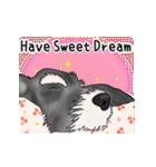 シュナウザー犬の年末年始スタンプⅡ(個別スタンプ:8)