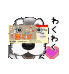 シュナウザー犬の年末年始スタンプⅡ(個別スタンプ:15)