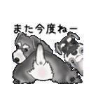シュナウザー犬の年末年始スタンプⅡ(個別スタンプ:23)