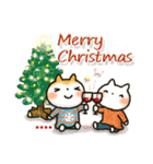 「まるちゃん」冬・年末年始【カスタム】(個別スタンプ:20)